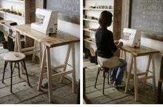 A字作業台(スクエア)両端ちゃんとぎりぎりにすれば、片側だけ体重掛けても安全?