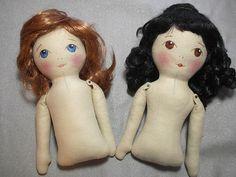 Doll Tutorial, muñecas con entalle y sin el.