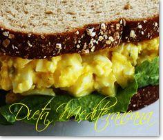SANDWICH CU SALATA DE OUA FIERTE Egg Recipes, Salad Recipes, Meatloaf, Salads, Sandwiches, Good Food, Food And Drink, Appetizers, Breakfast