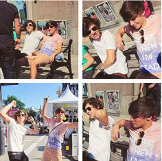 larry stylinson, louis tomlinson, harry styles, lou, hazza, tommo, harreh, one direction, bromance, 1D