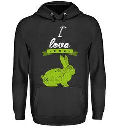 Ich liebe Hasen Kaninchen Geschenk T-Shirt Unisex, Hoodies, My Love, Sweaters, Fashion, Fashion Styles, Love, Gifts, Moda