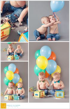 Twin Smash Cakes by KRMC Bakery, photography by Charlsie Oliverson Photography and bow ties from Tiny Tot Swag. Twin Birthday Pictures, 1st Birthday Photos, Birthday Ideas, Twin Birthday Parties, Baby Boy 1st Birthday, Twin Cake Smash, Smash Cakes, Twin Boys Birthdays, 1st Birthday Cake Smash