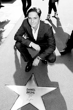 Daniel, the movie star, in Europe where they have good taste.