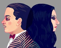 """Nan Lawson """"I Would Die For Her. I Would Kill For Her. Either Way, What Bliss."""" Addams Family"""