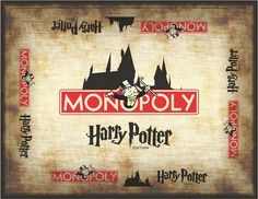 How to Make Harry Potter Monopoly!!! - yes I'm a dork, no I don't care. Definitely doing this when I get back to the US & near a Staples