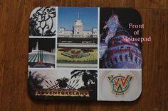 Mouse Pad Walt Disney World Magic Kingdom by OppidanEye on Etsy, $10.00