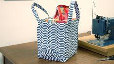 How to Make a Market Tote Bag