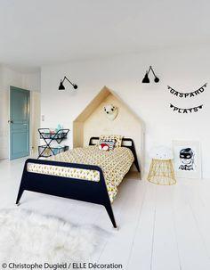 Une chambre d'enfant minimaliste et design