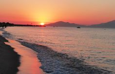 Beach at Sunset, Tingaki, Kos