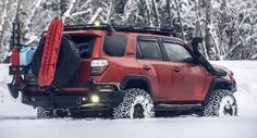 in the snow pics - Page 5 - Toyota Forum - Largest Forum Toyota 4runner Trd, Toyota 4x4, Toyota Trucks, 4runner Forum, Motorcycle Camping, Camping Gear, Volkswagen, Suv Trucks, Off Road Adventure