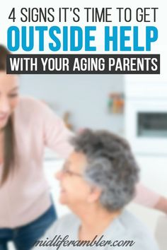 It can be difficult to notice your aging parents deteriorating welfare or know when its time to reach out for outside help. Here are four signs that your aging relatives might need help more help than you can provide alone. Online Parenting Classes, Parenting Courses, Parenting Books, Parenting Teens, Parenting Quotes, Natural Parenting, Gentle Parenting, Different Parenting Styles, Aging Parents
