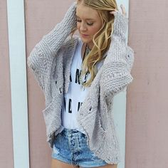 Still obsessing over the Cozy Cardi  #dayleedose #sweaterweather