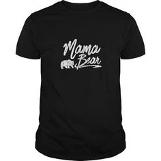 Awesome Tee Mama bear shirt Women's Mama Bear Women T Shirt (Christmas Gift T shirt) Shirts & Tees