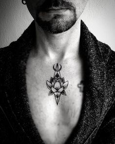 tatto by @brolinkosta #Lotus #lotustattoo