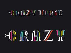 Visual Identity - Crazy Horse Paris