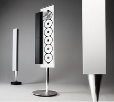 Bang & Olufsen Beosound 9000 with BeoLab 8000 speakers: Too cool.