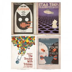 Star Trek: The Original Series Art Prints Set 3 | Star Trek Shop