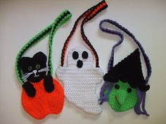 Ravelry: Crochet Village Halloween Purses pattern by Donna Harelik