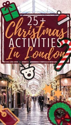 Christmas in London: fun activities to see and do in London, England during the holiday season. From historical sites to where to eat to winter wonderland: this guide will have you covered!