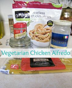 Yummm, I just posted a delicious recipe for Vegetarian Chicken Alfredo #ontheblog #vegetarian #food