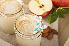 Fall Cinnamon Apple Blast: Cinnamon has been shown to help maintain blood sugar levels and nutmeg is also great for the immune system. It also helps get you to sleep, so try this Blast just a few hours before bedtime for a delicious treat.