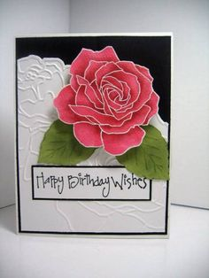 FIFTH AVENUE ROSE by minnidr - Cards and Paper Crafts at Splitcoaststampers