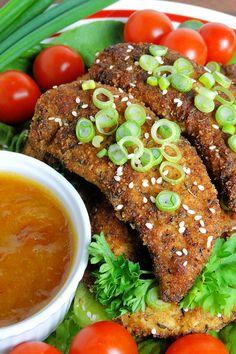 Cajun Chicken Tenders by WickedGoodKitchen.com ~ Crispy, tender and juicy…