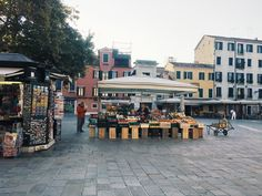 Typical Venetian markets   Location: Campo Santa Margherita   September, 2017