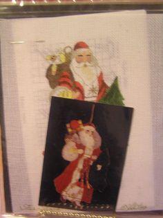 Joan Thomasson Star Santa Stitchin Stuff Creative Needlepoint Christmas New #StitchinStuffJoanThomasson