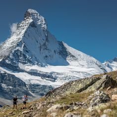 "Salomon Running on Instagram: ""The Matterhorn, one of worlds most recognisable mountains and majestic backdrop to the race drama that unfolded at Matterhorn Ultraks yesterday. Photo: @drozphoto"""