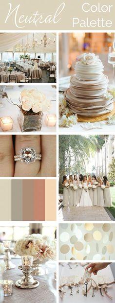 Wedding colour scheme