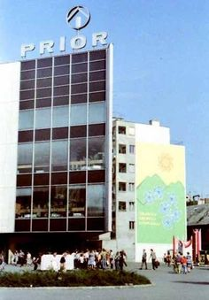 PRIOR v Bratislave Bratislava, Skyscraper, Nostalgia, Jar, Memories, Retro, Architecture, City, Arquitetura