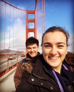 2 amazing years with this cutie. Spent the day walking around San Francisco including over the Golden Gate Bridge  excited for the next few legs of our travels! Next stop NYC  by simonenewland