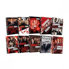 Criminal Minds: Seasons 1-10 DVD