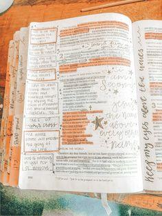 Bible Study Notebook, Bible Study Tips, Bible Study Journal, Scripture Study, Bible Art, Art Journaling, Bible Verses Quotes, Bible Scriptures, Bibel Journal