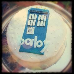 Dr. Who themed baby shower!