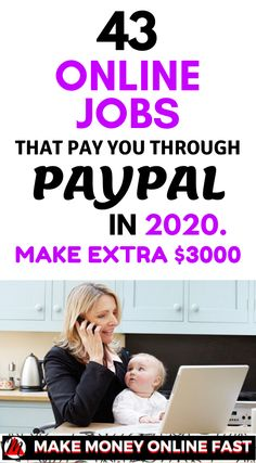Nowadays, work from home is the easiest way to make money from home. If you interested to make some extra … Show Me The Money, Make Money From Home, Way To Make Money, Work From Home Opportunities, Work From Home Tips, Legitimate Work From Home, Home Based Business, Earn Money Online, Online Work