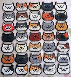 strijkkralen katjes