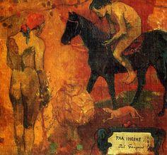 Paul Gauguin, Tahitian Pastoral (Faa Iheihe), 1892, oil on canvas, 86 x 113 cm, Tate Gallery, London, UK