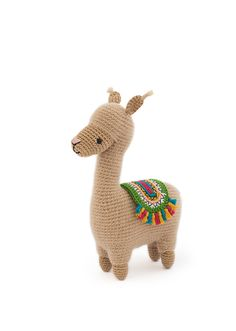 Lonzo the llama by Airali Design. This pattern is part of the book Zoomigurumi Llama Stuffed Animal, Stuffed Animal Patterns, Alpacas, Alpaca Toy, Crochet Patterns Amigurumi, Crochet Animals, Diy Crochet, Handmade Toys, Crochet Projects