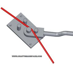Wire bending tools and jigs - - draht Metal Bending Tools, Metal Working Tools, Metal Tools, Bending Plywood, Conduit Bending, Metal Projects, Welding Projects, Metal Crafts, Homemade Tools