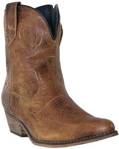 The ultimate versatile short boot for all seasons and occasions! http://www.countryoutfitter.com/products/31415-womens-adobe-rose-boot-light-brown-distressed #booties