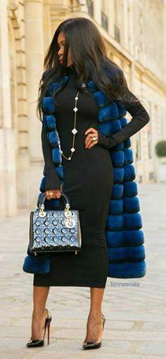 Olivia Fabuleuse Dior Handbag, Chinchilla & Louboutins