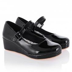 Sweet Women's Wedge Shoes With Belt and Solid Color Design