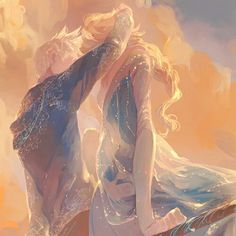 """Queen Elsa sitting together with Jack Frost seeing sunset on Jack Frost's icy rotten wood. Credits to the rightfull owner(s). This is the pin for my """"My Jelsa Gallery"""" board at """"Jelsa: fanarts"""" section. Disney Pixar, Disney Ships, Disney And Dreamworks, Disney Cartoons, Disney Magic, Disney Frozen, Disney Movies, Elsa Frozen, Elsa Elsa"""