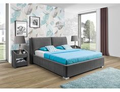 Łóżko tapicerowane Monaco, New Elegance Monaco, Mattress, Relax, Elegant, Furniture, Design, Home Decor, Classy, Decoration Home