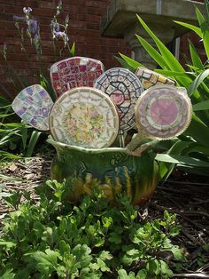 A Bouquet of Hand Mirrors by vintagebutterfly94, via Flickr