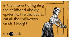 Halloween costumes are so last year! Send one of  these Halloween e-cards, instead!