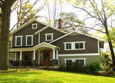 New split level remodel exterior before and after craftsman style 16 ideas Tri Level Remodel, Tri Level House, Split Level Exterior, Exterior Makeover, Exterior Remodel, Level Homes, Home Additions, Home Remodeling, House Renovations
