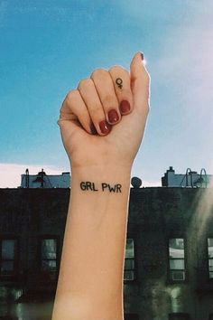 33 Tiny but Fierce Feminist Tattoos